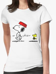 Funny Snoopy And Woodstock T-Shirt