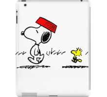 Funny Snoopy And Woodstock iPad Case/Skin