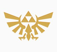 Royal crest The Legend of Zelda Triforce Video Game Logo Kids Tee