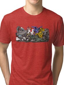 Where the Wild Pacific Rim Kaiju Are Tri-blend T-Shirt