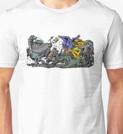 Where the Wild Pacific Rim Kaiju Are Unisex T-Shirt
