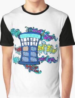 Tardis sounds off Graphic T-Shirt