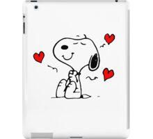 Snoopy In Love iPad Case/Skin
