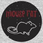 Mouse Rat T-Shirt | Parks and Recreation Leslie Knope Ron Swanson Bert Macklin FBI Parks n Rec Pawnee Indiana TV Show Tshirt Tee uk usa gift by Tee Dunk