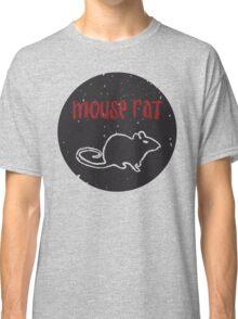 Mouse Rat T-Shirt | Parks and Recreation Leslie Knope Ron Swanson Bert Macklin FBI Parks n Rec Pawnee Indiana TV Show Tshirt Tee uk usa gift Classic T-Shirt
