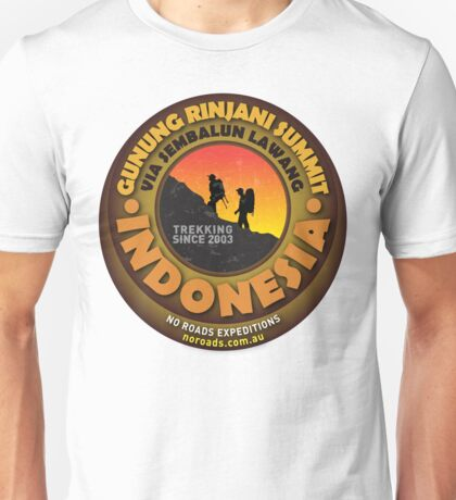 Mt Rinjani Summit Tshirt Unisex T-Shirt