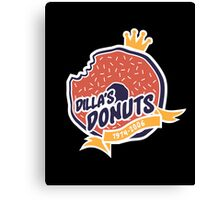 Dilla's Donut Canvas Print