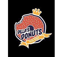 Dilla's Donut Photographic Print