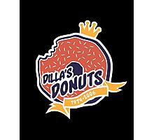 Dilla's Donut Photographic Print