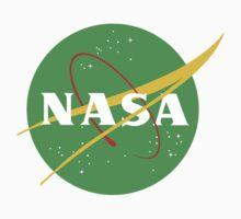 NASA Green Kids Tee