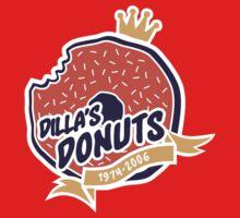 Dilla's Donut One Piece - Short Sleeve