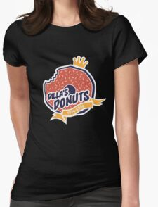 Dilla's Donut Womens Fitted T-Shirt