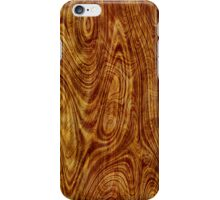 Maple Burlwood Nature Tree Wood Effect iPhone Case/Skin