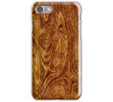 Maple Burlwood Nature Tree Wood Effect iPhone Case/Skin