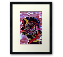 Wired Girl Framed Print