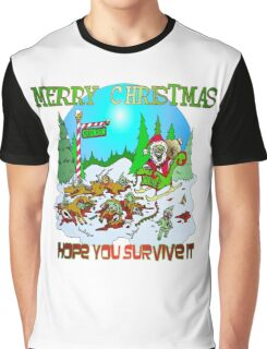Santas killings Graphic T-Shirt
