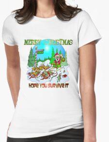 Santas killings Womens Fitted T-Shirt