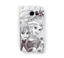 Monochrome Princesses A and E Samsung Galaxy Case/Skin