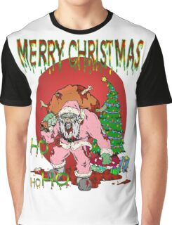 Zombie Claus Graphic T-Shirt