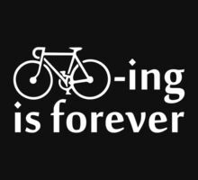 Cycling is Forever (dark) by KraPOW