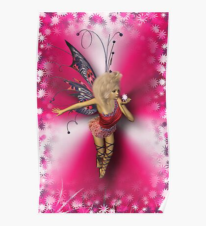 ✿♥‿♥✿BUTTERFLY WOMAN/ PICTURE/CARD✿♥‿♥✿ Poster