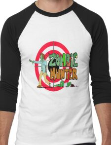 Zombie Hunter Men's Baseball ¾ T-Shirt