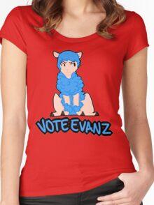 Vote Evanz! Women's Fitted Scoop T-Shirt
