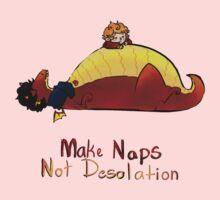 Make naps, Not Desolation Kids Tee