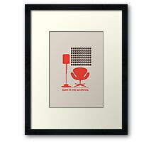 Born In The Seventies Framed Print