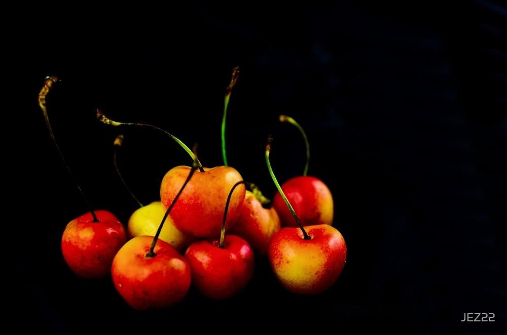 Rainier Cherries by JEZ22
