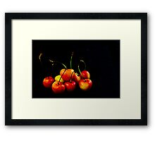 Rainier Cherries Framed Print