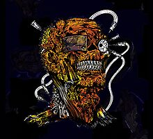 Undead Zombie Mummy Freaky Guy by NaturePrints