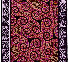 Spirals x3 by Sevenbears