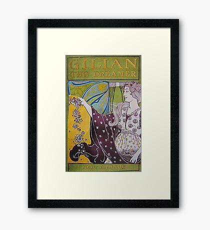 Gillian The Dreamer Framed Print