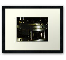 A Well Oiled Fighting Machine Framed Print