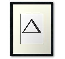 Daedalus's Laptop Symbol Framed Print