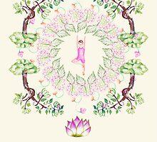 yoga garden VI by ecrimaga