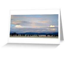 Winter view from Stoney Creek Road, Narrabri  Greeting Card