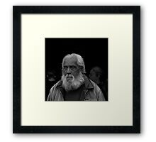 Portrait 1 (The Weight Of The World On His Shoulders) Framed Print