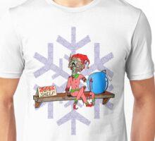 Elf on a Shelf Zombie Unisex T-Shirt