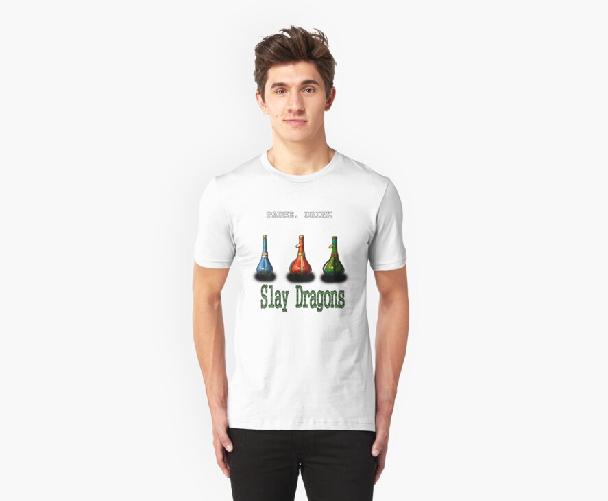 Potion Tee by THSWESSEL