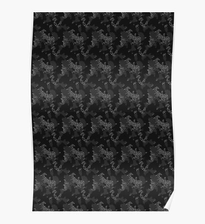 Elephant Print Camouflage - Pop Art, Sneaker Art, Pattern Poster