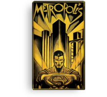 Guardian of Metropolis Canvas Print