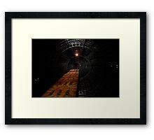 Below the Tower Framed Print