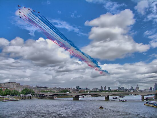 Queens Birthday Flypast 4 - The Reds Over London -  15.06.2013 by Colin J Williams Photography