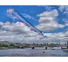 Queens Birthday Flypast 4 - The Reds Over London -  15.06.2013 Photographic Print
