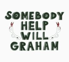 Somebody Help Will Graham! (sticker) by Isabelle M