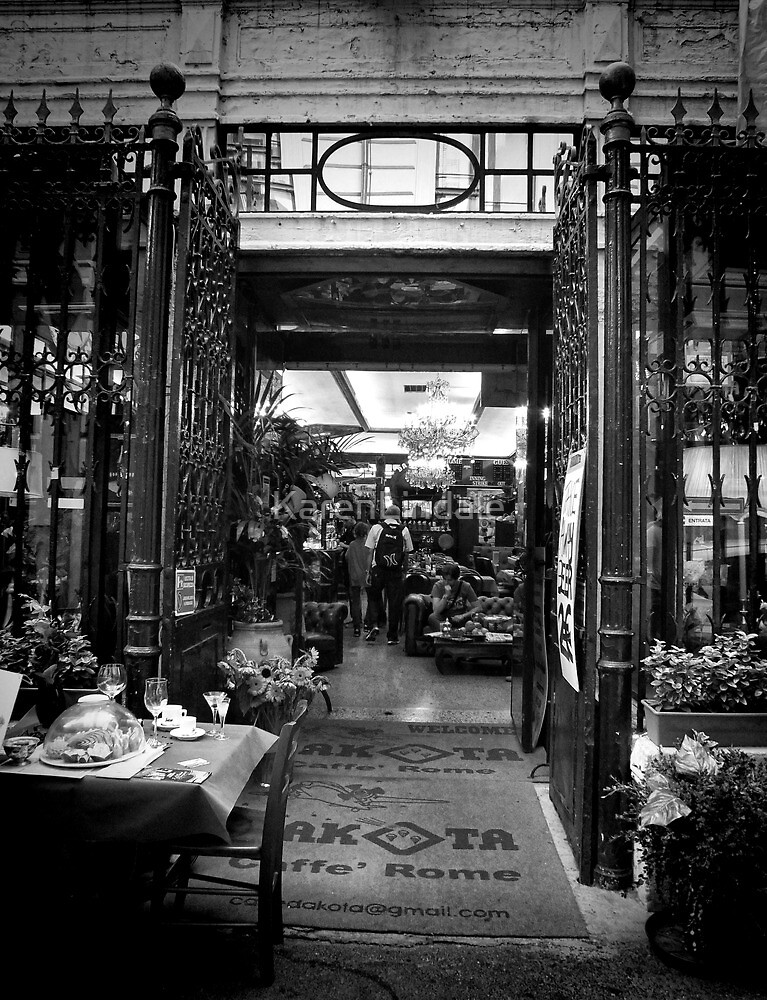 Cafe Roma by KarenLindale