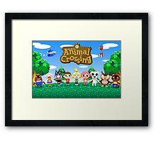 Animal Crossing Framed Print