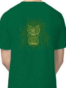 tribal Swamp Zombie Classic T-Shirt